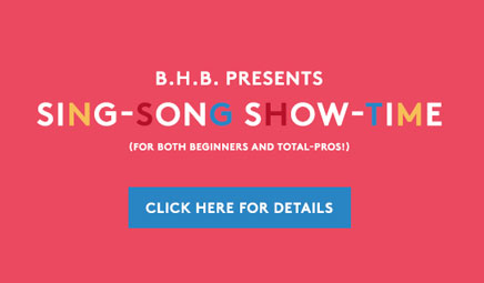 BHB Sing-Song Show-time